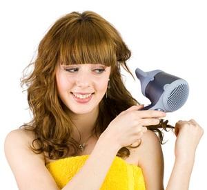 Haarfoen-Test